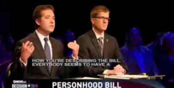 Cory Gardner Absolutely Nailed By Debate Moderators For Personhood Stance
