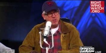 Glenn Beck Preaches Love By Screaming At Listeners To Hate