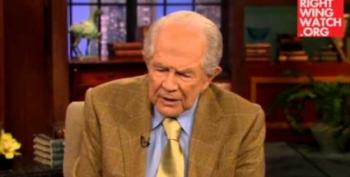 Pat Robertson: People Don't Live To Be 969 Anymore Because Of Noah's Flood