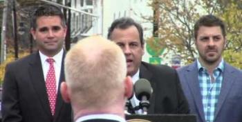 Chris Christie Tells Sandy Victim To 'Sit Down And Shut Up'