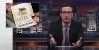 John Oliver: Americans Spend More On The Lottery Than They Do On America