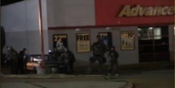 UPDATED: Did Cops Set Fires In Ferguson?