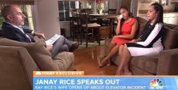 Baltimore Ravens Told Janay Rice To Apologize At Press Conference