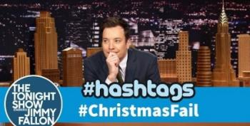 Open Thread:  Jimmy Fallon's #ChristmasFails