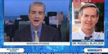 Newsmax's Snake Oil Salesman Makes Outlandish Claims About Vaccines
