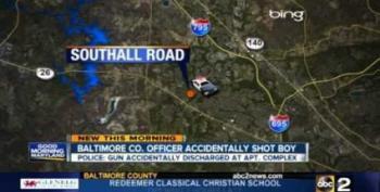 Moonlighting Cop 'Accidentally' Shoots Teenager