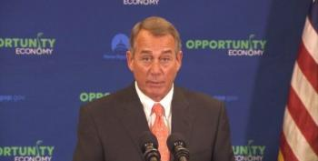 Boehner Wants Democrats To 'Get Off Their Ass' And Save His