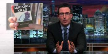 That Time John Oliver Took Down The Tobacco Industry