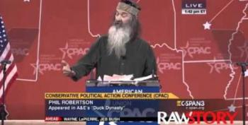 Phil Robertson's Totally Awesome Freaked Out Speech At CPAC 2015