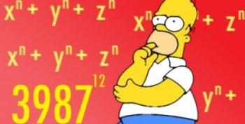 Open Thread - Math In The Simpsons
