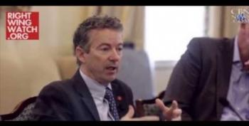 Rand Paul Tosses Libertarian Supporters For The Religious Right