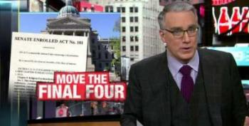 Olbermann: The NCAA Must Pull The Final Four From Indiana