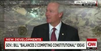 Arkansas Governor Refuses To Sign Religous Freedon Bill