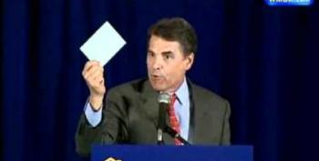 Open Thread - Throwback Thursday, Rick Perry Edition