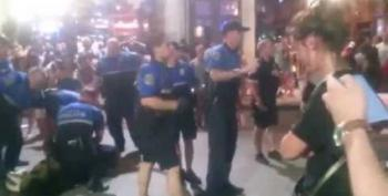 Austin Cop Pepper Sprays Bystander For No Apparent Reason