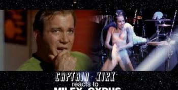 Open Thread - The Enterprise Watches Miley