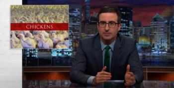 John Oliver Saves The Chicken Farmers From Big Agra