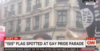 CNN International Reporter Breathlessly Reports On 'ISIS Flag' At Gay Pride Parade