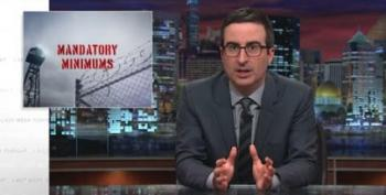 John Oliver Looks At Mandatory Minimum Sentences