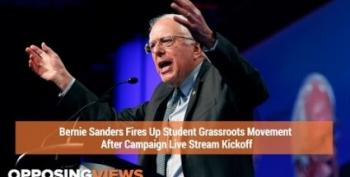 UCLA Students Get Riled Up To Get Out The Vote For Bernie Sanders