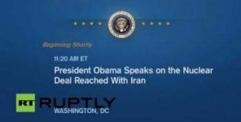GOPers Hate President's Historic Iran Speech -- Which Means It's A Success