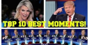 Top 10 Best Moments From The GOP Debate!