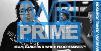 BLM Activist Marissa Janae Johnson Speaks About Sanders Rally