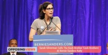 Sarah Silverman Introduces Bernie Sanders In LA By Going After The Kochs