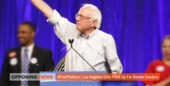 Opposing Views Felt The Burn Covering Bernie Sanders In LA