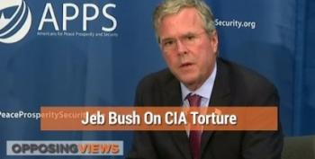 Jeb Bush Is Totally Down For Using Torture Just Like His Brother