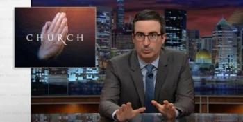 John Oliver Goes After 'Prosperity Gospel' TV Preachers