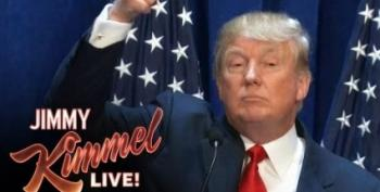 Jimmy Kimmel Imagines The Perfect Trump Campaign Ad