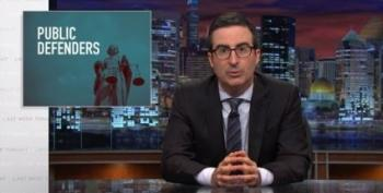 John Oliver: If You Need A Public Defender, You're Screwed