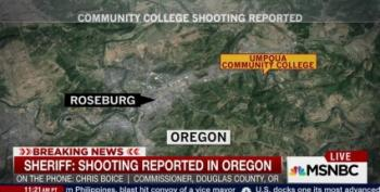 Multiple Casualties After Shooting At Community College In Oregon