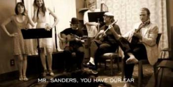 'Mr. Sanders, Bring Us A Dream'