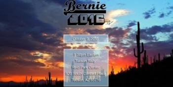 Bernie Sanders Draws 13,000 To Tucson Rally