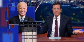 Stephen Colbert Ridicules The Same Biden Fever He Stoked