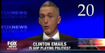 Gowdy Couldn't Bother To Show Up For Key Benghazi Hearing