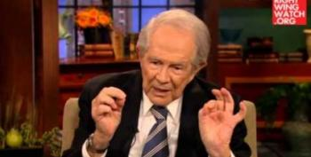 Pat Robertson Proclaims: Gay Marriage Is Illegal!