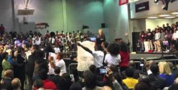 Clinton Rally Interrupted By Black Lives Matter Protesters
