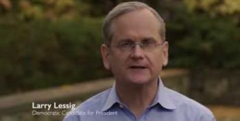 Lessig Pulls Out Of Democratic Race