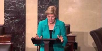 Elizabeth Warren Warns CFPB Attacks Just Cover For Wall Street Destruction Of Dodd-Frank