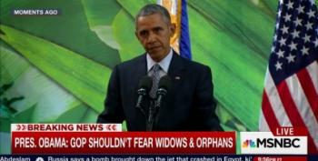 President Obama Mocks GOP For Being Pants-Wetting Cowards