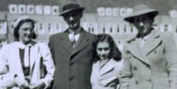 Let's Keep The Syrian Refugees Out, Like We Did With Anne Frank