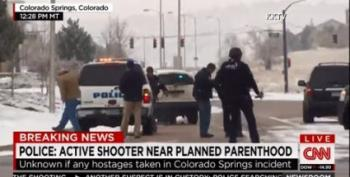 Planned Parenthood Shooter Now In Custody; Officer, Civilian Dead