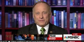 Steve King Gives Donald Trump His Undying Gratitude