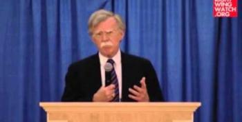 John Bolton Claims Obama Threatens Our National Security
