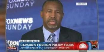 Ben Carson Admits Saying China Was In Syria Was Idiotic