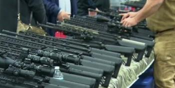 Gun Buyers Swamp Virginia Gun Show In Anticipation Of Executive Action