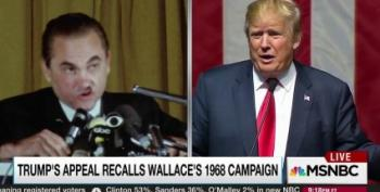 Rachel Maddow Compares Donald Trump To George Wallace -- And Hits The Mark